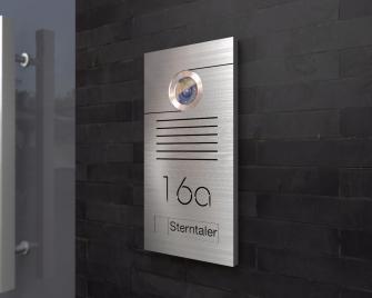Video Türsprechanlage 12,5x20cm