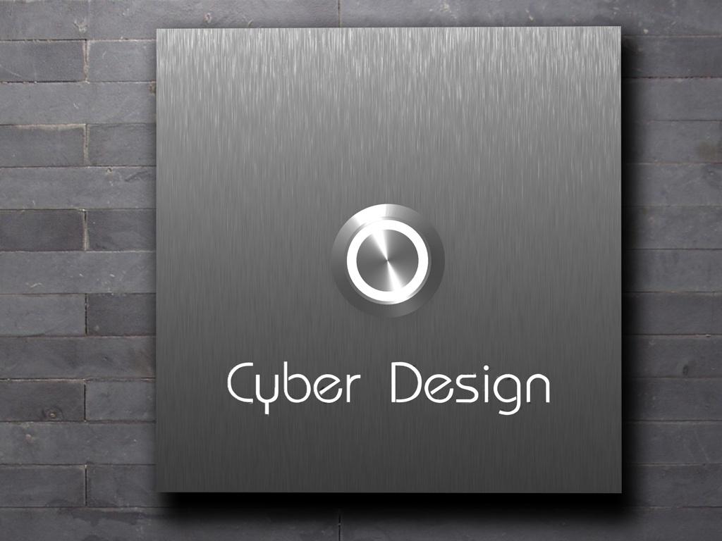Design Edelstahlklingel mit Led- Namesbeleuchtung